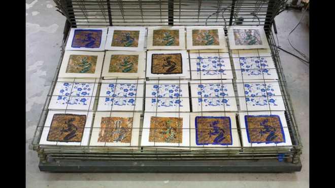 Pitch-Art #04 - Au travail : sérigraphier les images de la série Shakti-Yoni: Ecstatic Cosmic Dances