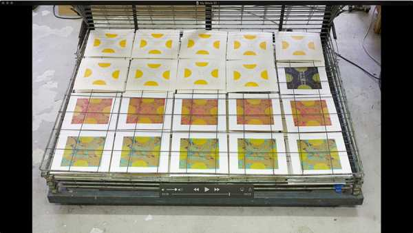 Jean-Pierre sergent,  AT WORK III PART 20: SILK SCREENING THE IMAGES #16