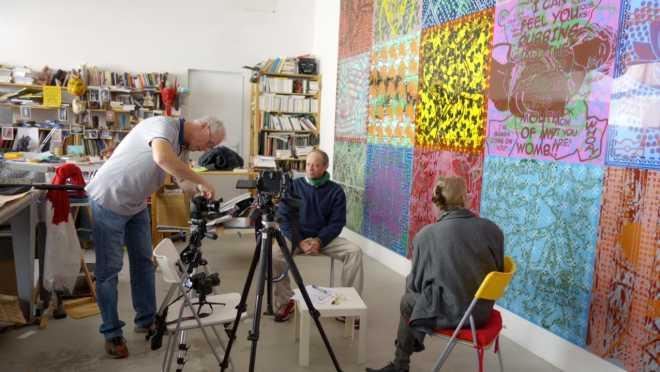 Digressions dans l'atelier avec Marie-Madeleine Varet (8 parties)