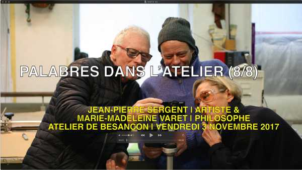 """""""ENDLESS DISCUSSIONS IN THE STUDIO"""" (7/8) INTERVIEW SERGENT-VARET 