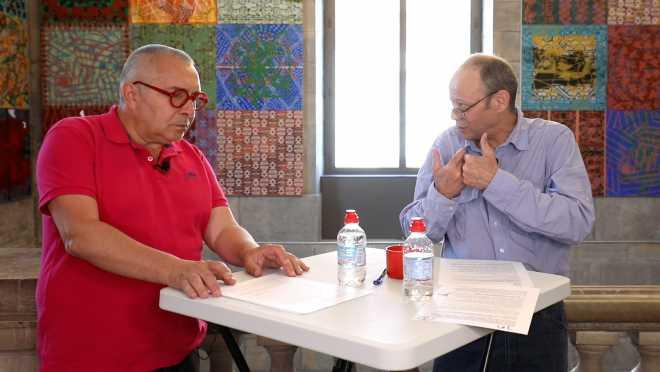 1/3 Entretien-Discussion avec Thierry Savatier | Les quatre piliers du ciel