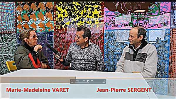 Jean-Pierre Sergent, NOUVELLE VIDÉO > ENTRETIENS AVEC MARIE-MADELEINE VARET FILMÉ PAR HECTOR LAGOS
