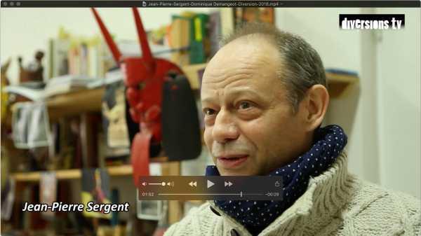 Interview de Jean-Pierre Sergent avec Dominique Demangeot pour le Journal Diversion