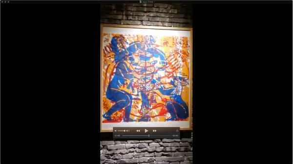 VIDEO VIEW OF THE EXHIBITION OF WORKS ON PAPER EROS REGENERATING LIFE