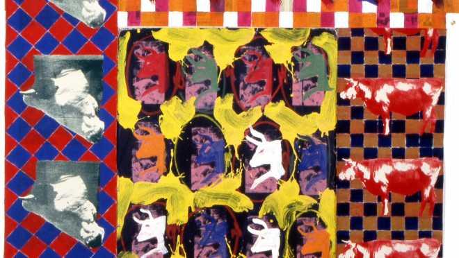 2/8 : La structure et l'organisation de la peinture 2/2 (peintures à New York, 1984-1993)