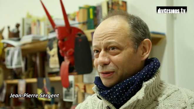 Interview de Jean-Pierre Sergent avec Dominique Demangeot pour le journal Diversions
