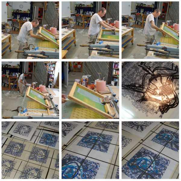 Nouvelle page web photos > Jean-Pierre Sergent / Travail sur papier V : la série des Shakti-Yoni: Ecstatic Cosmic Dances (2017)