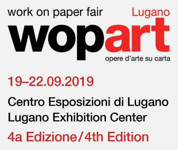 Jean-Pierre sergent, WOPART 2019 (Work on Paper Art Fair) OF LUGANO