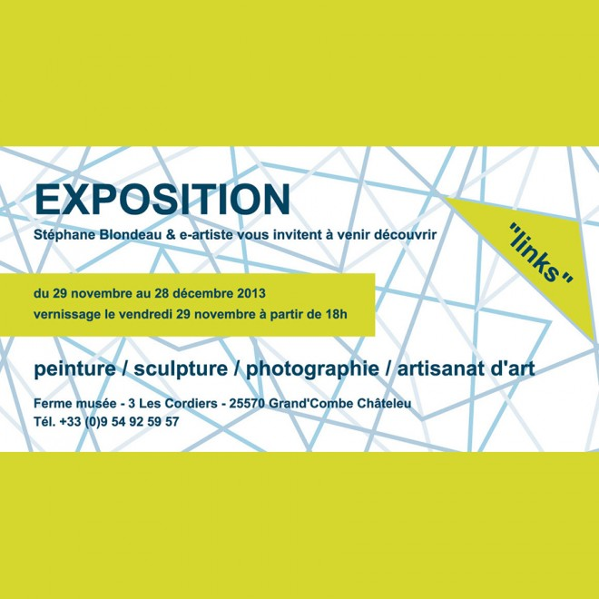 "EXPOSITION DE GROUPE : ""LINKS"""