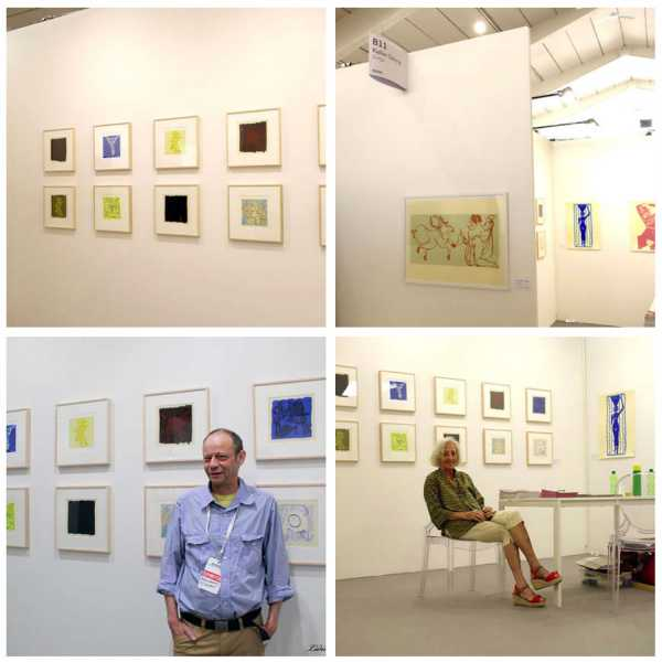 Jean-Pierre Sergent, PHOTOS OF THE WOPART (Work on Paper Art Fair) OF LUGANO