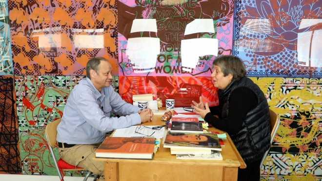 Entretiens avec Claudie Floutier | Art, sagesses & bribes de souvenirs communs (3 parties)