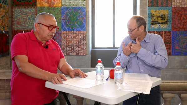 Interview-Talk of artist Jean-Pierre Sergent with art historian Thierry Savatier #5   THE FOUR PILLARS OF HEAVEN (3 parts)