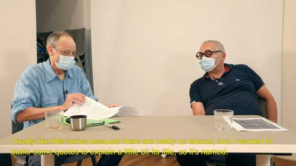 subtitling of the Interviews between Jean-Pierre Sergent with Thierry Savatier | the Erotic Art of JPS (3 parts)