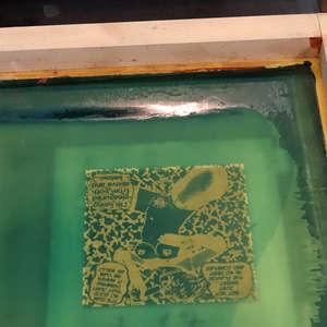 Image 72 - At Work On Paper XII Shakti-Yoni-2020, JP Sergent