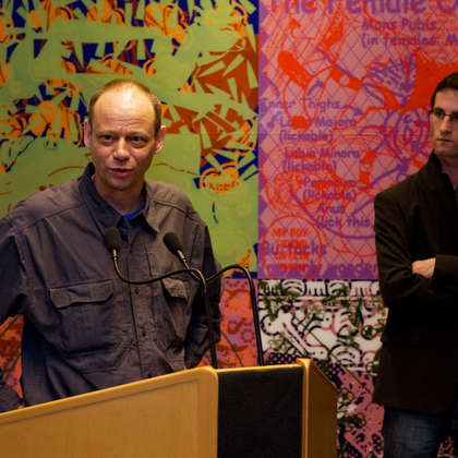 Image 9 - zExpo Flagey vernissage 03/2012, JP Sergent