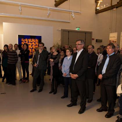 Image 4 - zExpo Flagey vernissage 03/2012, JP Sergent