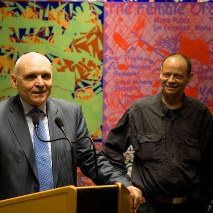 Image 5 - zExpo Flagey vernissage 03/2012, JP Sergent