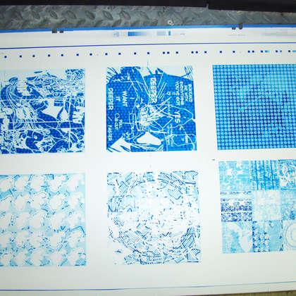Image 9 - zExpo Flagey 2012 Imprimerie, JP Sergent