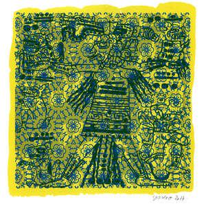 Image 55 - Small Paper - Shakti-Yoni - 2016-2017, JP Sergent