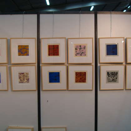 Image 7 - View of the stands, Biennale de Besançon 2009, JP Sergent