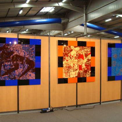Image 5 - Vue des stands, Biennale de Besançon, 2011, JP Sergent