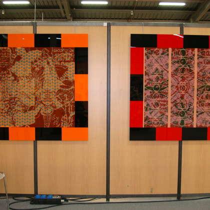 Image 7 - Vue des stands, Biennale de Besançon, 2011, JP Sergent