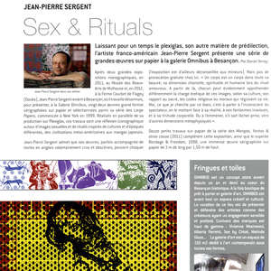 Image 25 - Reviews 2012, JP Sergent