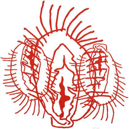 Image 1 - z-visuels Vulva-grotte- 2014, JP Sergent