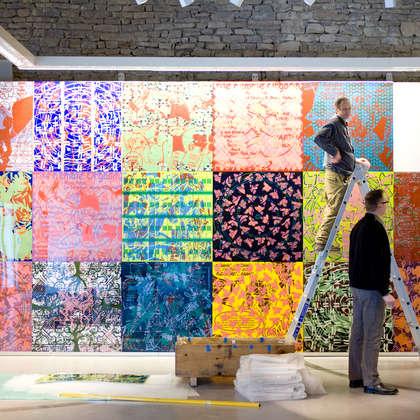 Image 9 - zExpo Flagey 2012 Installation, JP Sergent