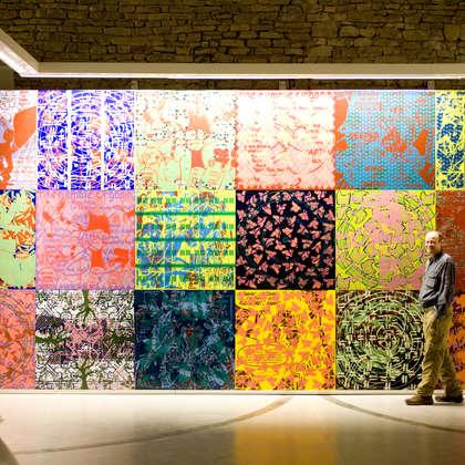 Image 10 - zExpo Flagey 2012 Installation, JP Sergent