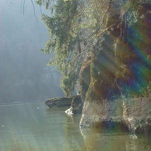 Image 19 - Jean-Pierre sergent, Water, Rocks, Trees & Flowers, April 2014, JP Sergent