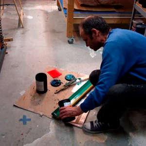 Image 51 - At work Plexiglas, JP Sergent