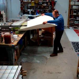 Image 109 - At work Plexiglas, JP Sergent