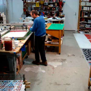 Image 107 - At work Plexiglas, JP Sergent