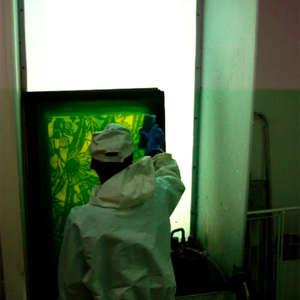 Image 43 - At work Plexiglas, JP Sergent