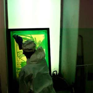 Image 46 - At work Plexiglas, JP Sergent