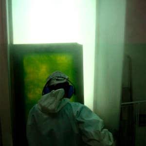 Image 37 - At work Plexiglas, JP Sergent