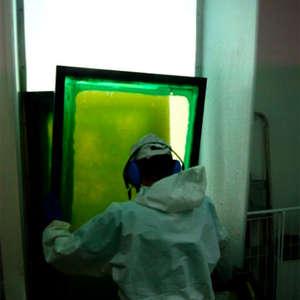 Image 39 - At work Plexiglas, JP Sergent