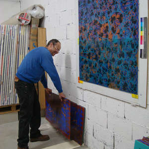 Image 171 - At work Plexiglas, JP Sergent