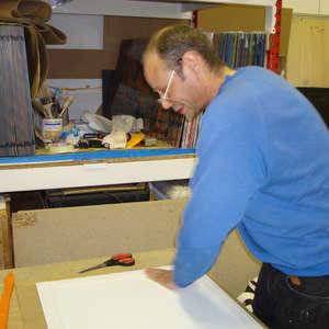 Image 174 - At work Plexiglas, JP Sergent