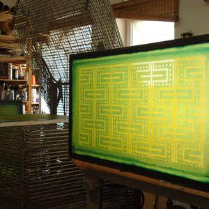 Image 84 - At work Plexiglas, JP Sergent
