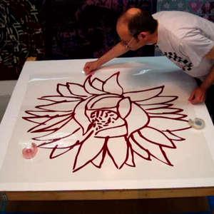 Image 18 - At work Plexiglas, JP Sergent