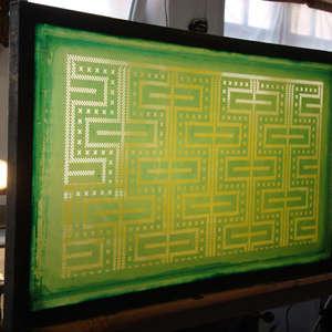 Image 83 - At work Plexiglas, JP Sergent