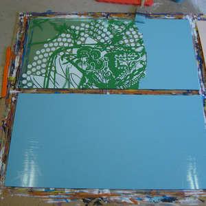 Image 127 - At work Plexiglas, JP Sergent