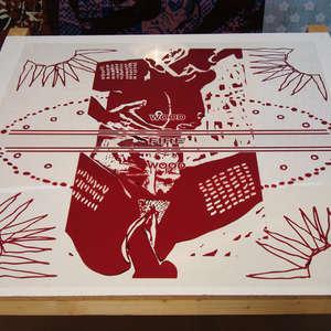 Image 33 - At work Plexiglas, JP Sergent