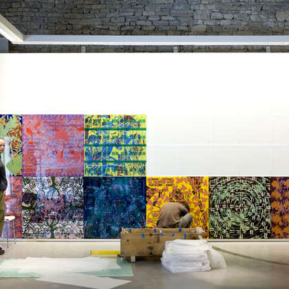 Image 8 - zExpo Flagey 2012 Installation, JP Sergent
