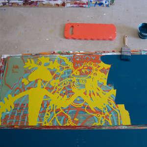 Image 182 - At work Plexiglas, 2015, JP Sergent