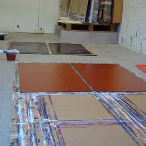 Image 59 - At work Plexiglas, 2015, JP Sergent