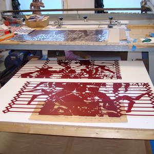 Image 9 - At work Plexiglas, 2015, JP Sergent