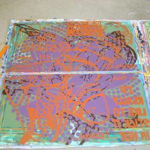 Image 80 - At work Plexiglas, 2015, JP Sergent